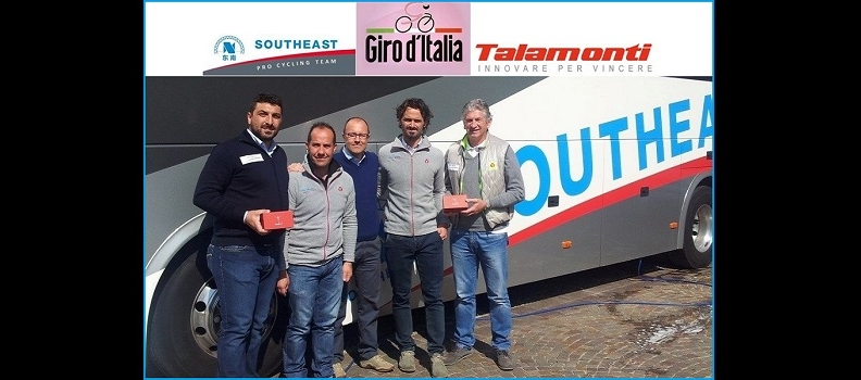 SOUTHEAST TEAM AND TALAMONTI GROUP WITH BABYSPORT BH® AT GIRO D'ITALIA