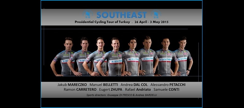 THE SOUTHEAST AT THE PRESIDENTIAL CYCLING TOUR OF TURKEY